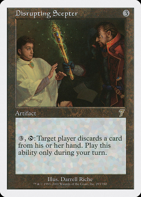 Disrupting Scepter (7ED)