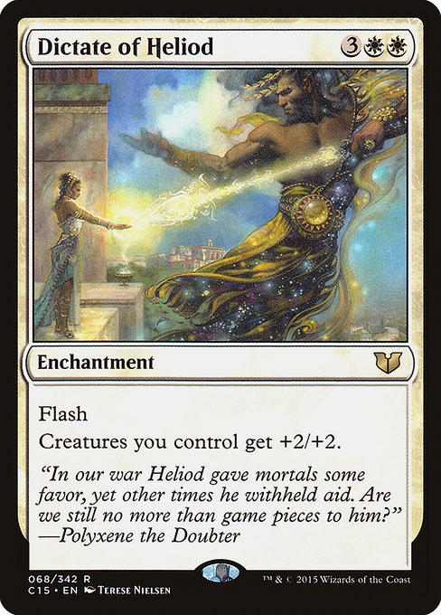 Dictate of Heliod (C15)