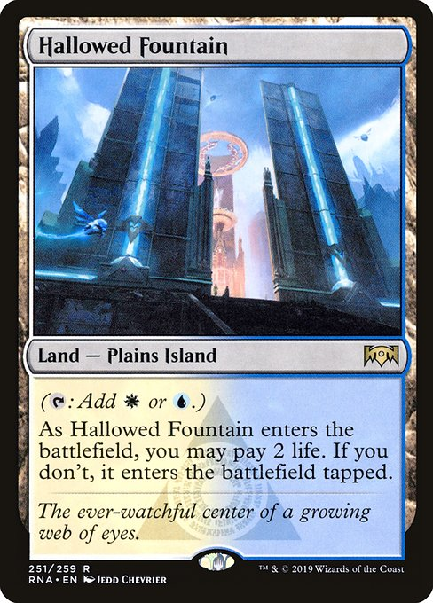 Hallowed Fountain (RNA)
