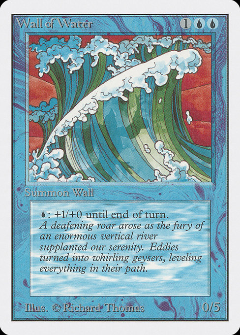 Wall of Water (2ED)