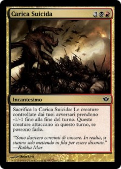 Suicidal Charge (CON)