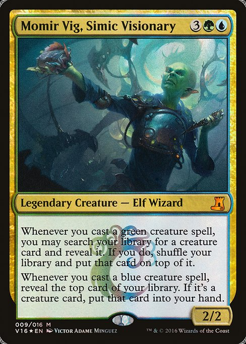 Momir Vig, Simic Visionary (V16)