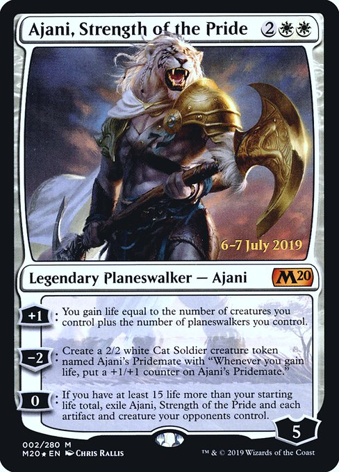 Ajani, Strength of the Pride (PM20)
