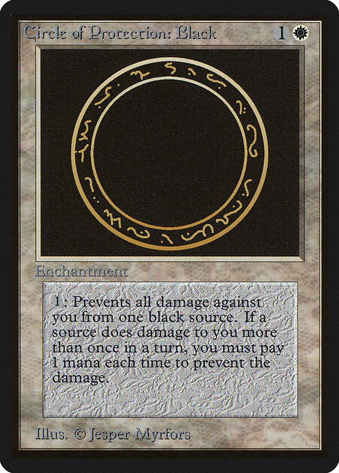 Circle of Protection: Black (LEB)