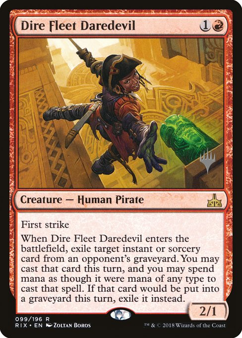 Dire Fleet Daredevil (PRIX)