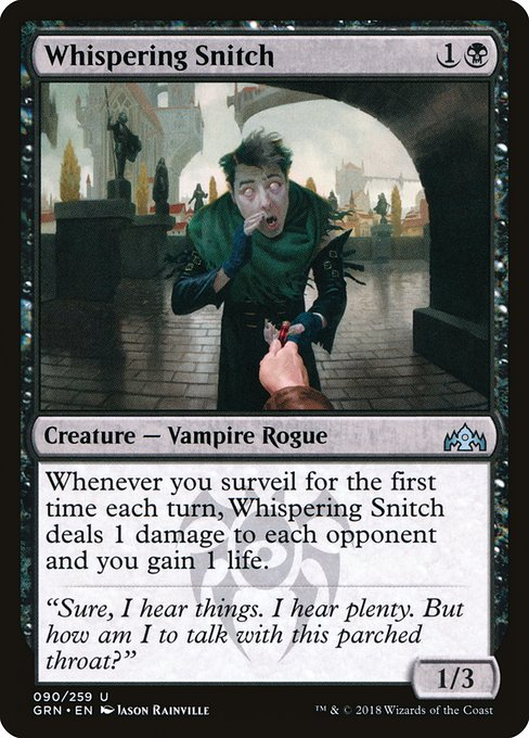 Whispering Snitch (GRN)