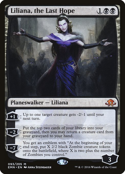 Liliana, the Last Hope (EMN)