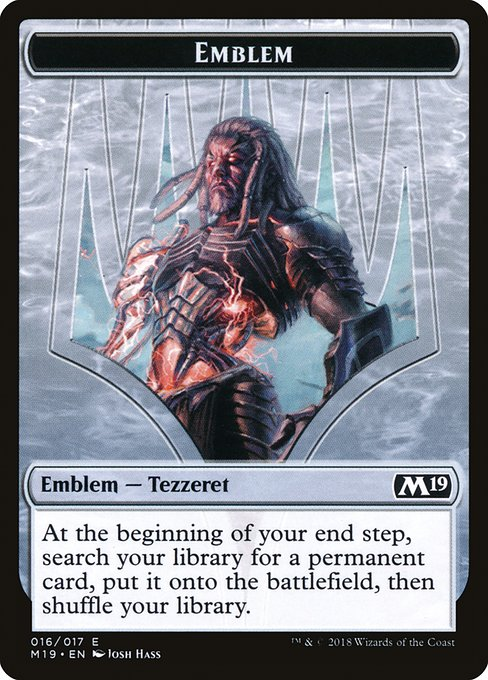 Tezzeret, Artifice Master Emblem (TM19)