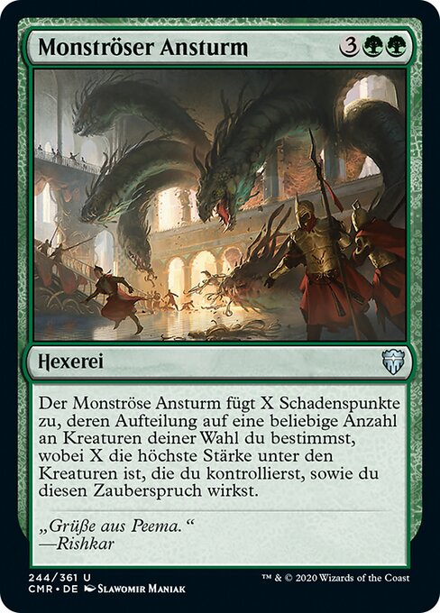 Monstrous Onslaught (CMR)