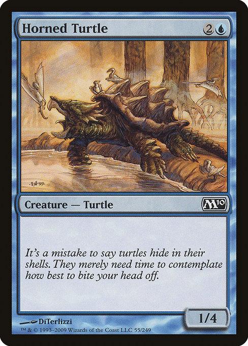 Horned Turtle (M10)