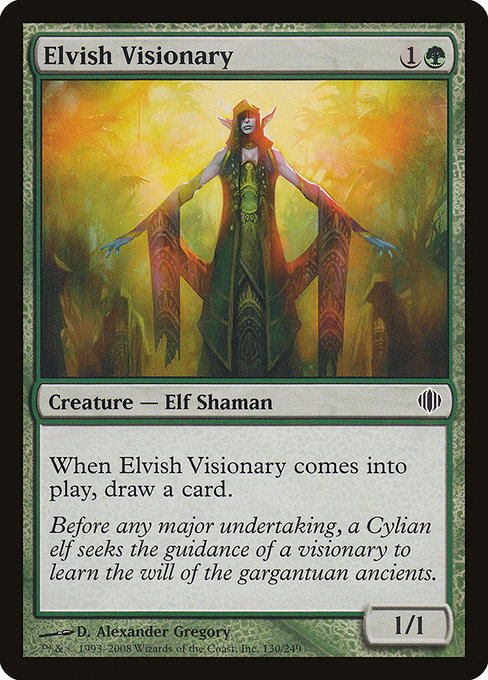 Elvish Visionary (ALA)