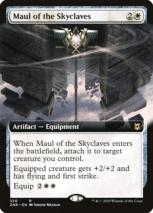 Maul of the Skyclaves (ZNR)