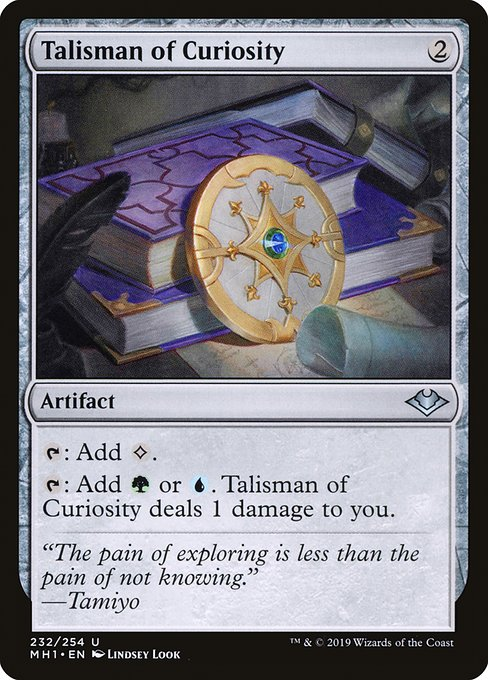 Talisman of Curiosity (MH1)