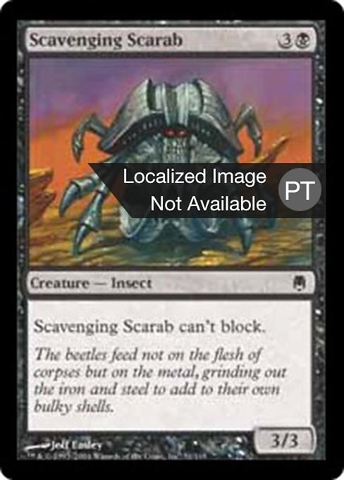 Scavenging Scarab (DST)