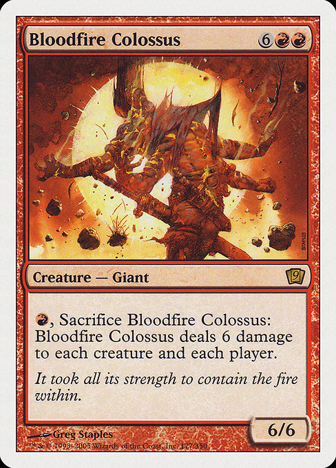 Bloodfire Colossus (9ED)