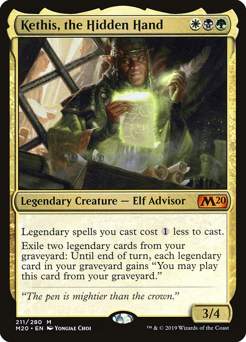 Kethis, the Hidden Hand (M20)