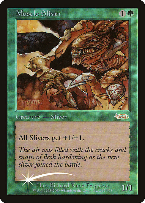 Muscle Sliver (F03)
