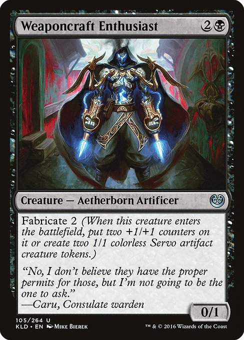 Weaponcraft Enthusiast (KLD)