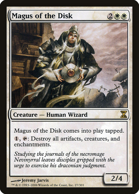 Magus of the Disk (TSP)
