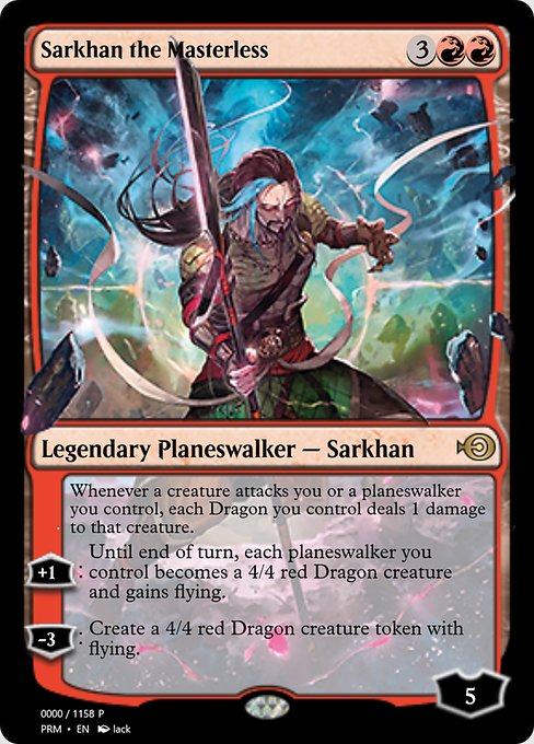 Sarkhan the Masterless (PRM)