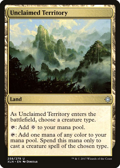 Unclaimed Territory (XLN)