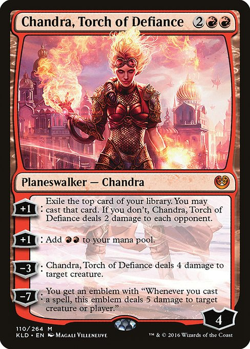 Chandra, Torch of Defiance (KLD)