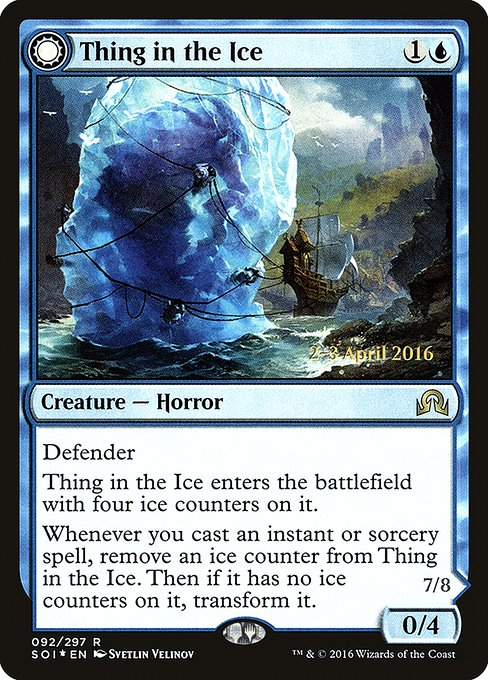 Thing in the Ice // Awoken Horror (PSOI)