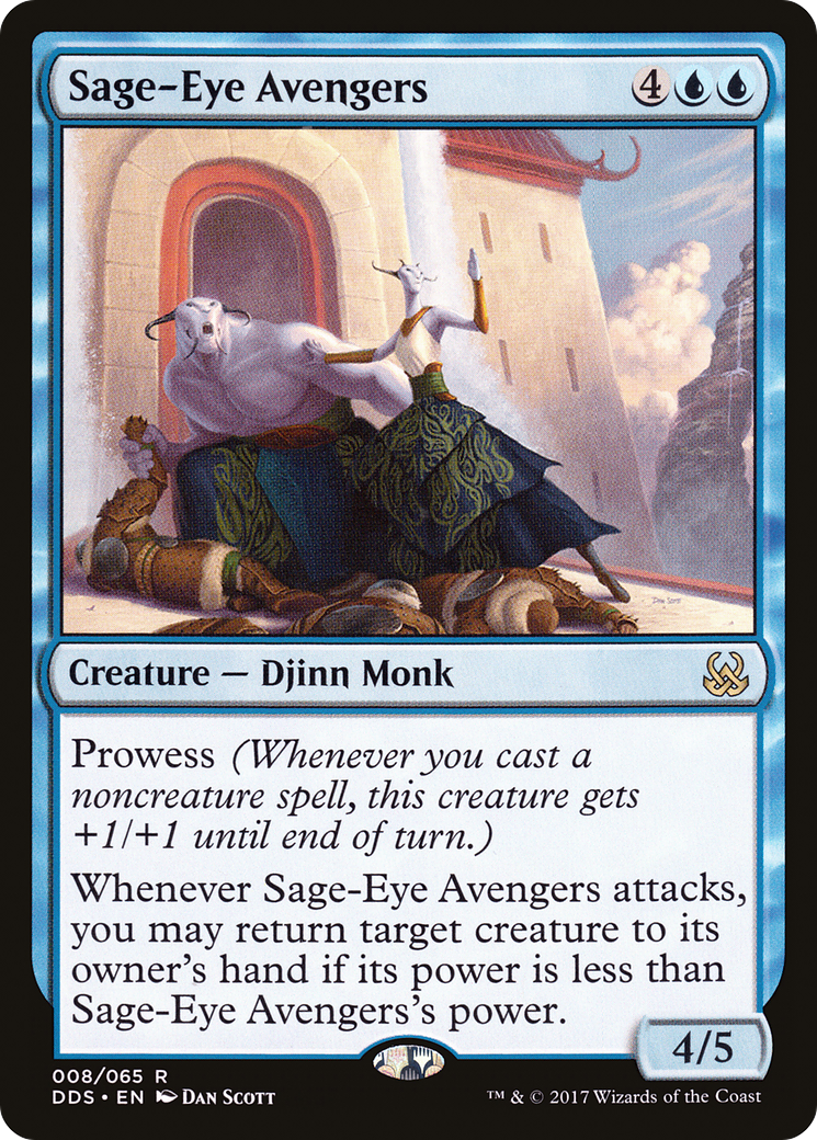 Sage-Eye Avengers (Duel Decks: Mind vs  Might)