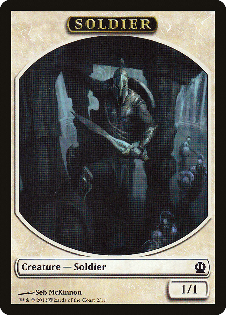 Soldier (Theros Tokens)