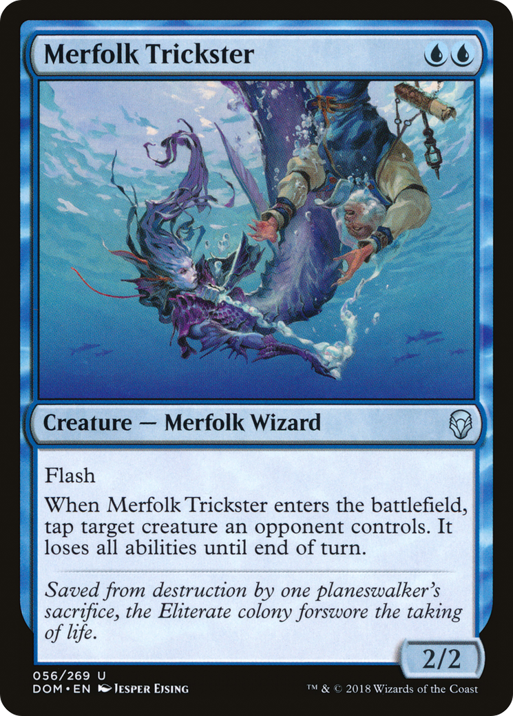 Merfolk Trickster · Dominaria (DOM) #56 · Scryfall Magic: The ...