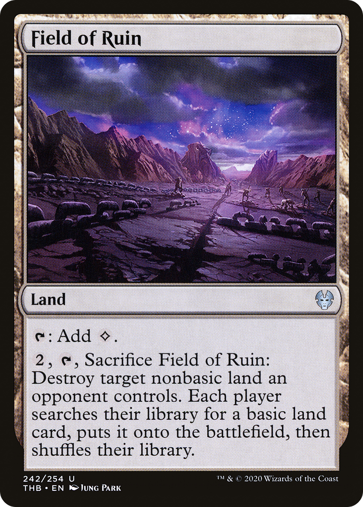 Field of Ruin (Theros Beyond Death)