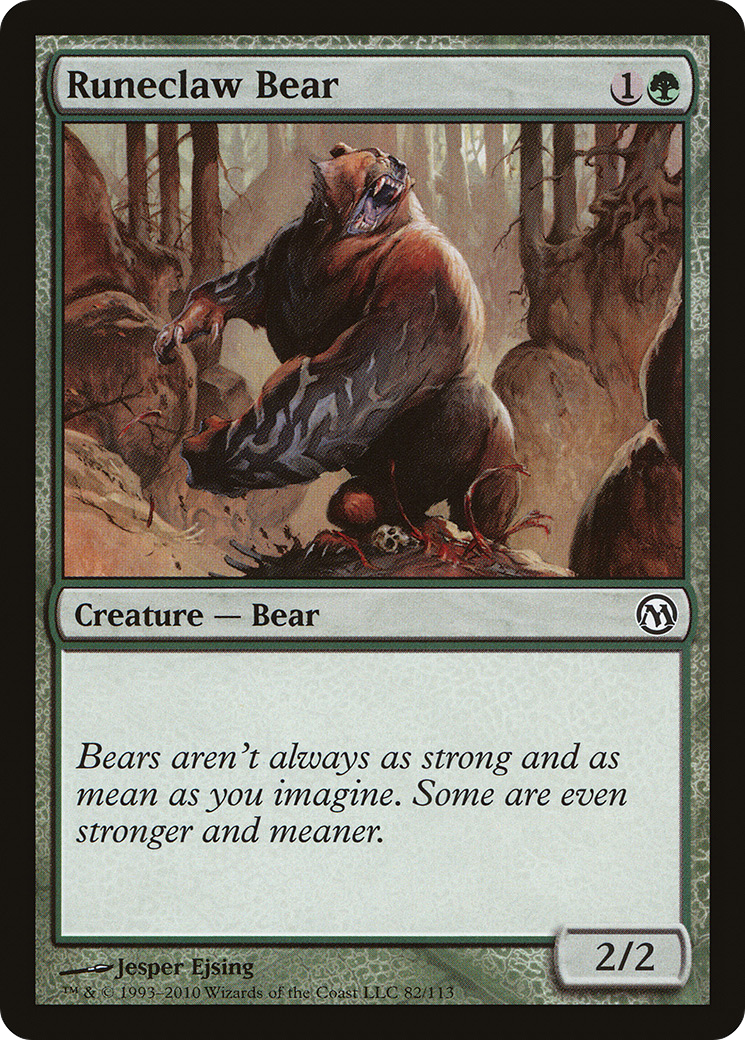Runeclaw Bear (Duels of the Planeswalkers)