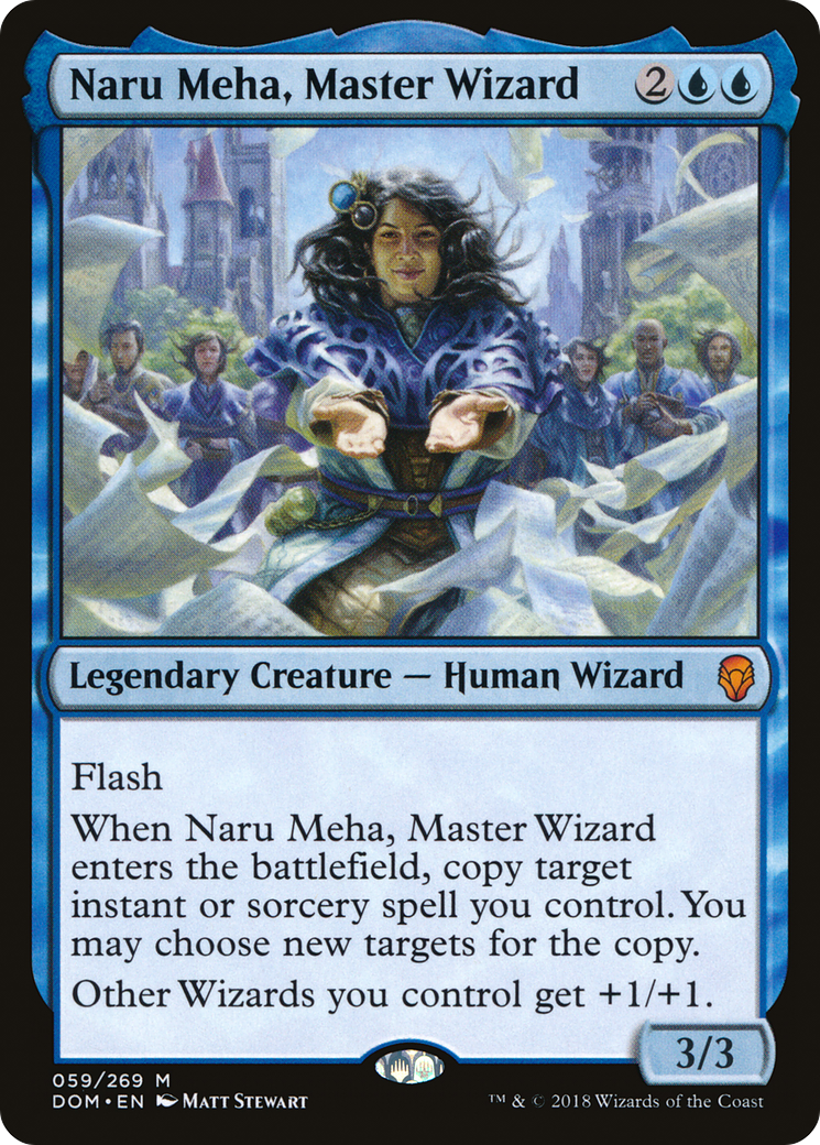 Naru Meha, Master Wizard · Dominaria (DOM) #59 · Scryfall Magic ...