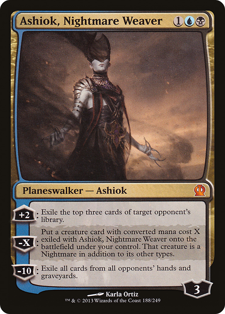 Ashiok, Nightmare Weaver