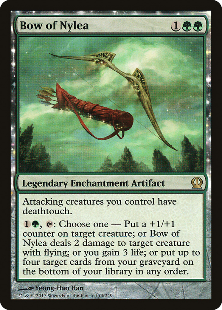 4x ordeal of Nylea-ordeal of Nylea MTG Magic THS Theros ENG//ENG