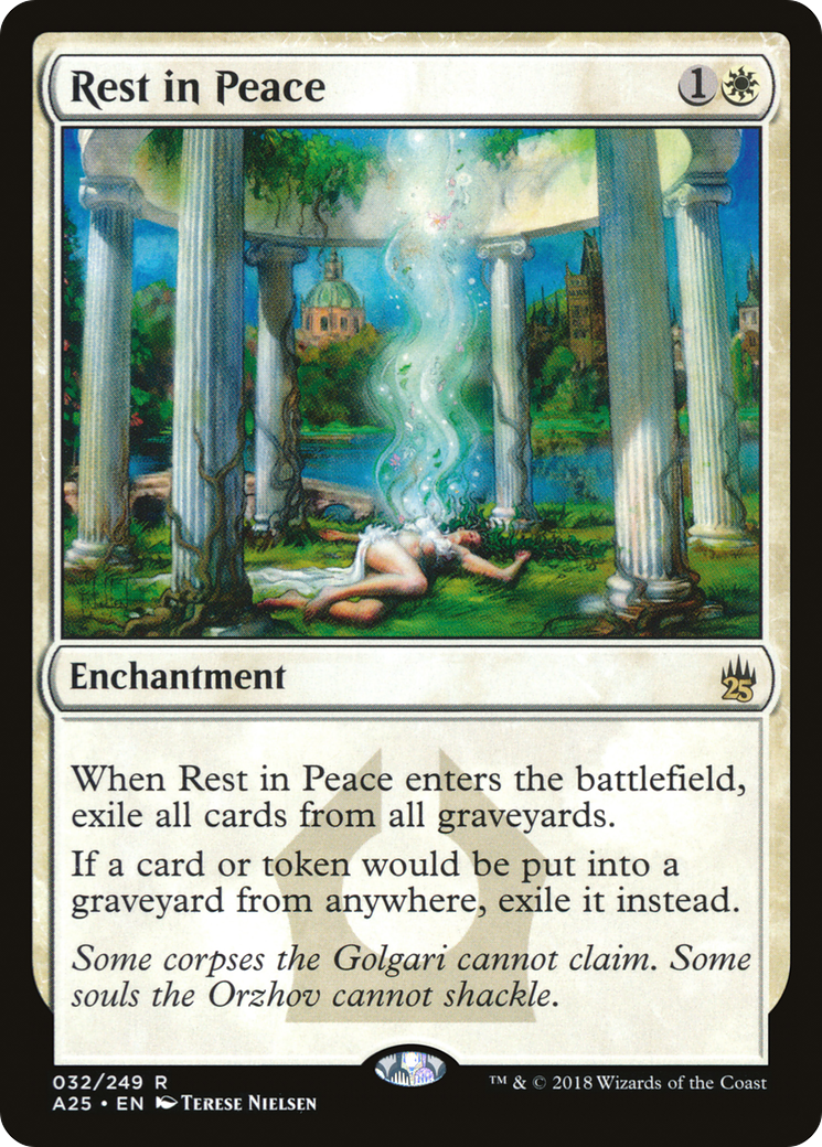 Rest in Peace (Masters 25)