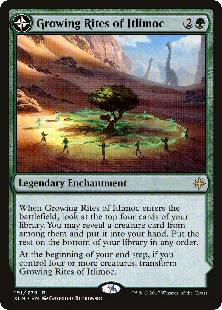 Growing Rites of Itlimoc // Itlimoc, Cradle of the Sun