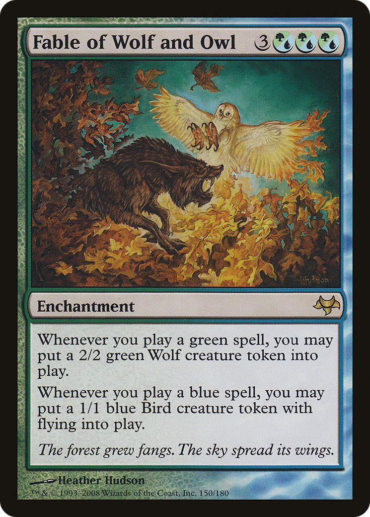Fable of Wolf and Owl (Eventide)