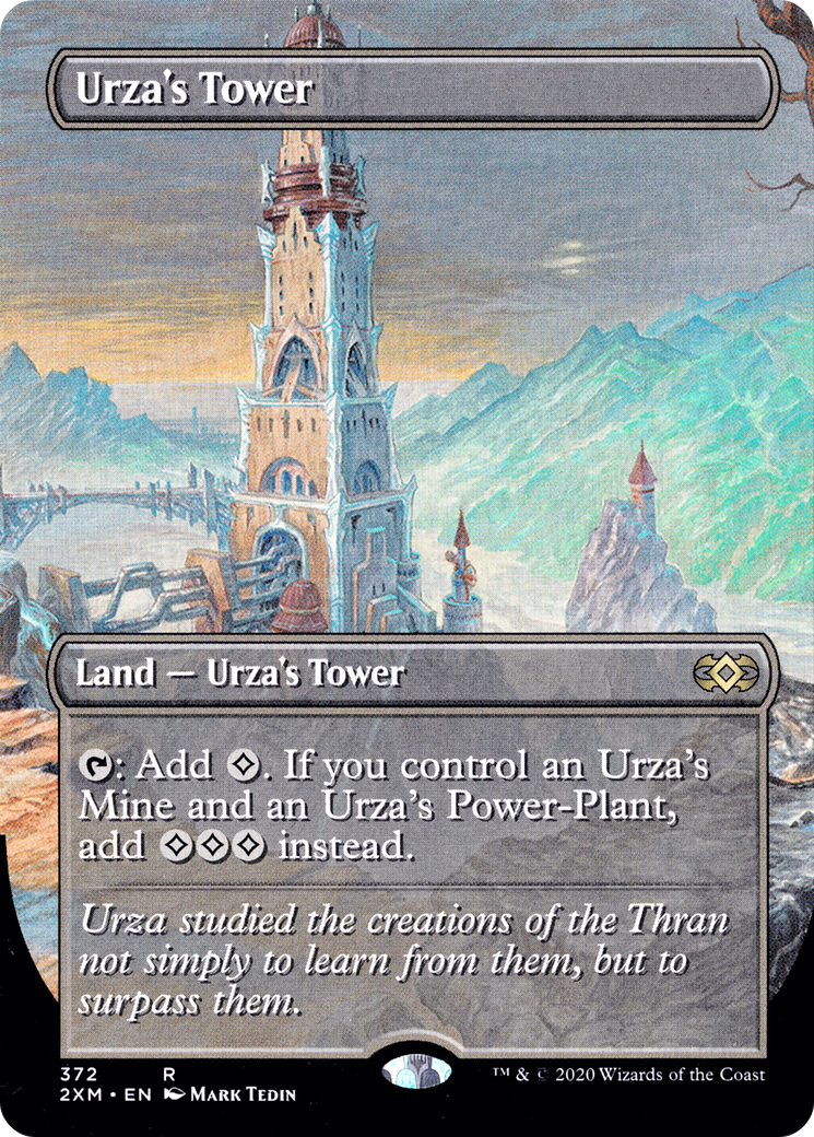 2x Urza/'/'s Tower 331//332 Near Mint MTG Double Masters
