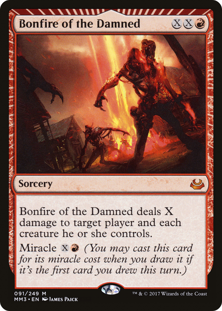 Bonfire of the Damned (Modern Masters 2017)