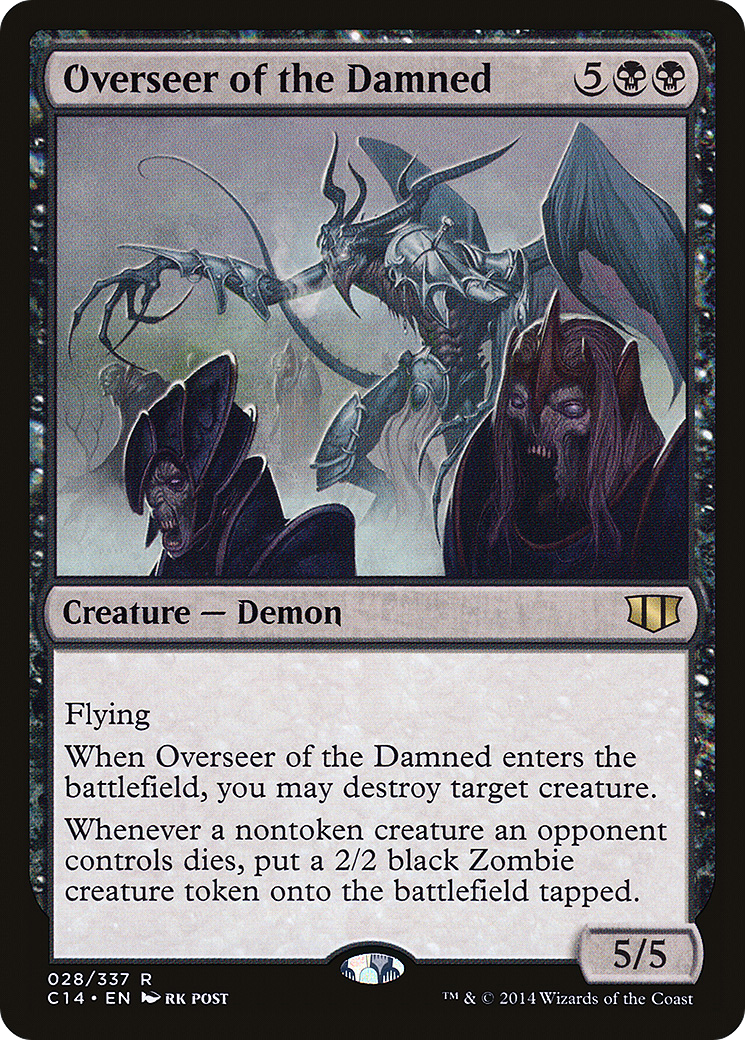 Overseer of the Damned (Commander 2014)