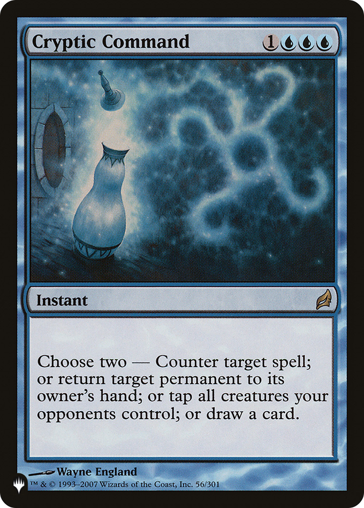 Cryptic Command (The List)