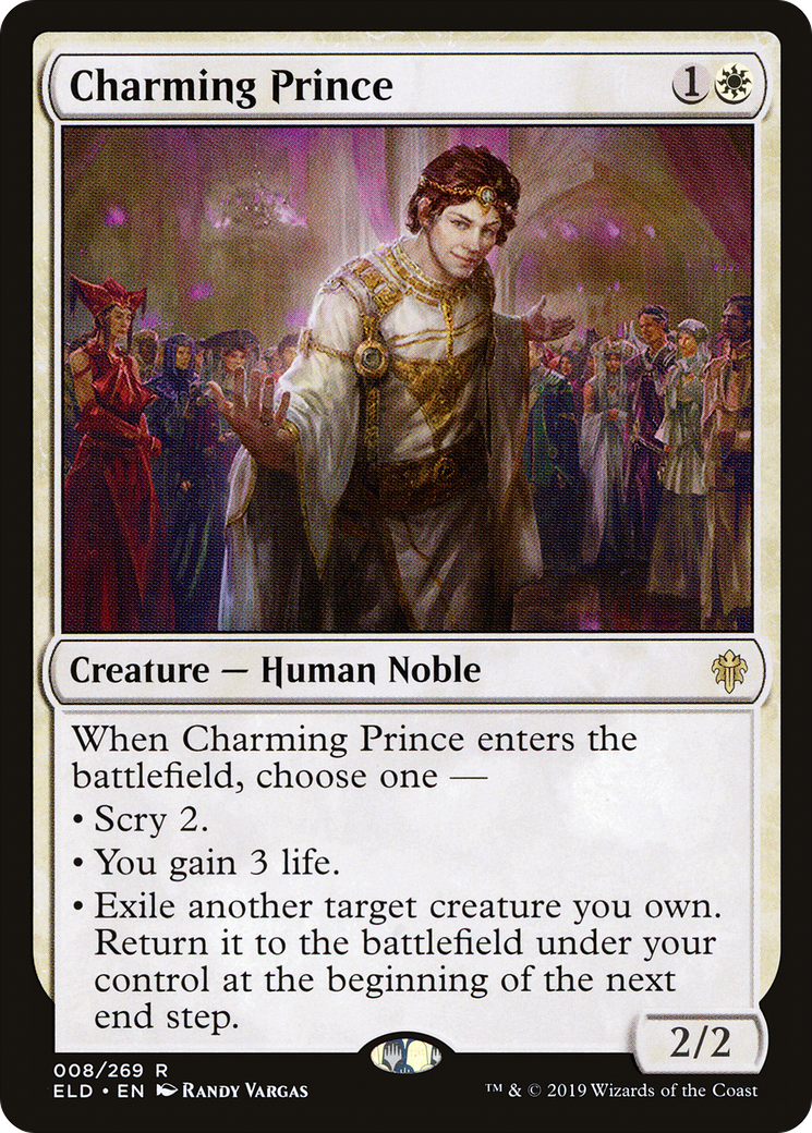 Magic the Gathering Charming Prince Throne of Eldraine