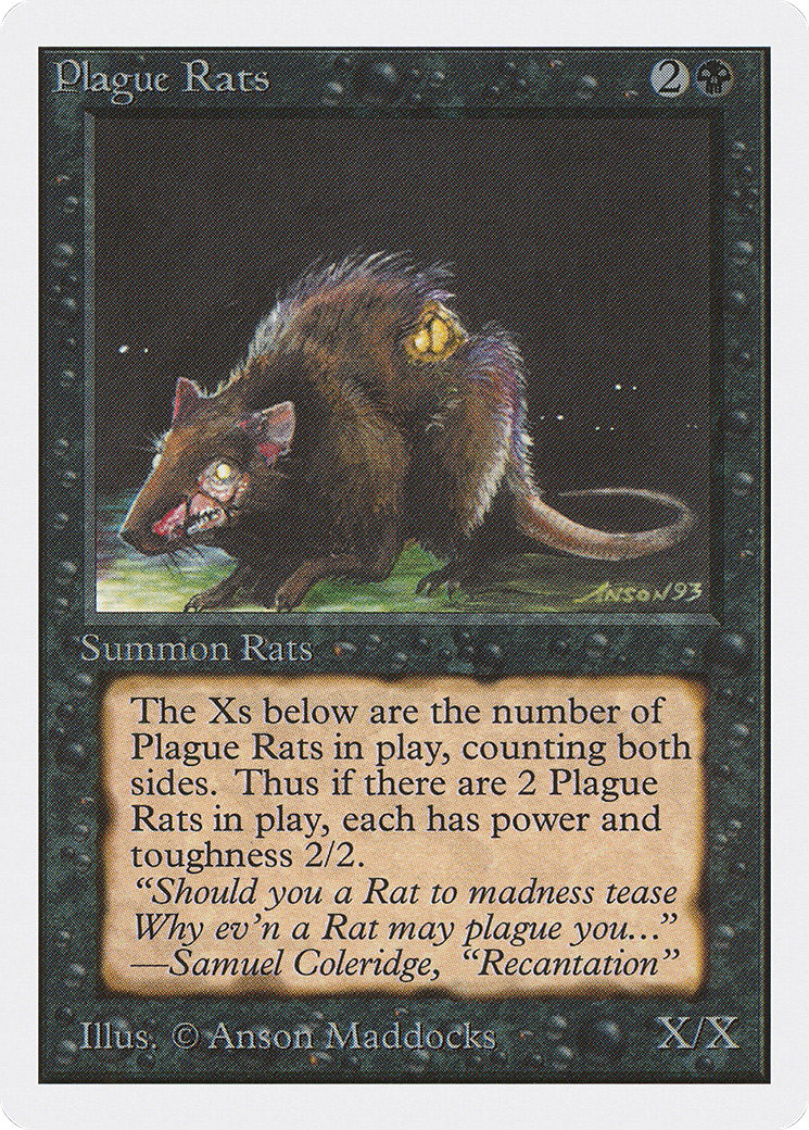 Plague Rats (Unlimited Edition)