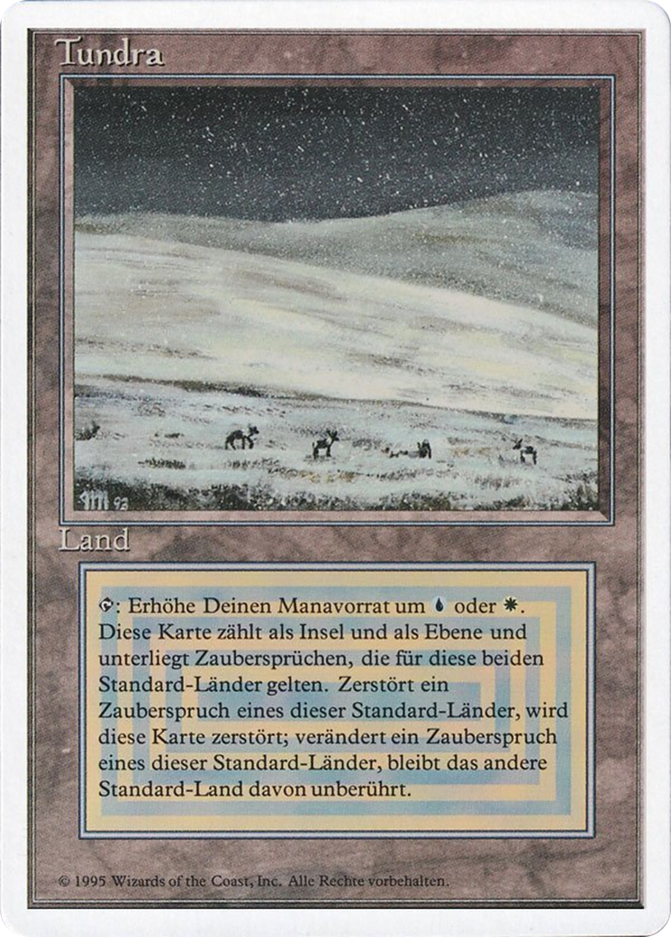 Tundra Karte.Tundra Revised Edition 3ed 289 Scryfall Magic The Gathering