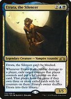 the Silencer rare Guilds of Ravnica MTG Magic The Gathering Etrata