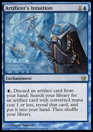 [[SCD]] Artificer's Intuition - Commander (EDH) - The Game ...