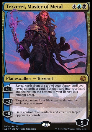 tezzeret Planeswalker Activated Ability