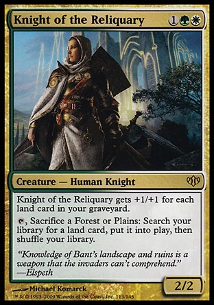 Knight of the Reliquary (Conflux)