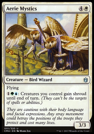 Chaos Warp (3, 2R) 0/0\nInstant\nThe owner of target permanent shuffles it into his or her library, then reveals the top card of his or her library. If it's a permanent card, he or she puts it onto the battlefield.\nCommander's Arsenal: Rare, Commander: Rare\n\n